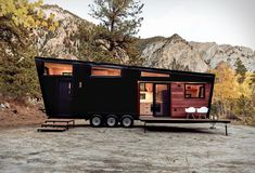 Land Ark first caught our attention with their amazing Drake tiny house. Now they have contacted us with news on their new offering, the Draper Tiny House, a towable home with plenty of storage space, a living room that doubles up as a guest room, an