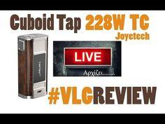 Joyetech Cuboid Tap 228W TC Vapelikegeek LIVE review Joyetech Cuboid Tap 228W TC Vapelikegeek LIVE review θα το βρειτε εδω http://ift.tt/2wlN2Ft (afl ) Το Κιτ ομως ΚΑΛΥΤΕΡΗ ΜΕΤΑΒΑΣΗ ΣΤΗ ΠΑΡΟΥΣΙΑΣΗ Αναφορά στον RDA Apocalypse GEN 5:17 Παρουσιαση κοντινο CUBOID TAP 10:38 Πολος μοντ 20:55 Μπαταριες για το μοντ 22:19 Συμπερασματα 33:57 Επιλογος 1:17:49 Supports 2pcs 18650 batteries ( not included ) Wattage range: 1 - 228W TC range: 100 - 315 Deg.C / 200 - 600 Deg.F Resistance: 0.05 - 1.5 ohm (…