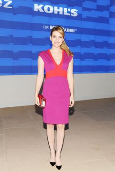 Narciso Rodriguez for Kohl's Celebration: Emma Roberts in Narcisco Rodrigues for Kohl's