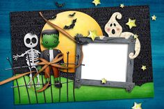 Halloween PNG Photo Frame