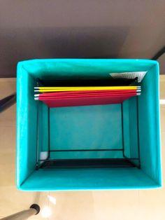DRÖNA File Holder   IKEA Mesh File Holder Within Fabric Organizing Cube