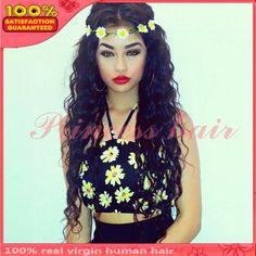 Aliexpress.com : Buy New design long loose wave bleached knots unprocessed brazilian virgin glueless full lace human hair wigs with baby hair instock from Reliable Wigs suppliers on Pretty princess hair products Co.,lTD
