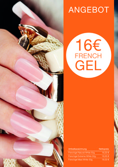 Messeaktion COSMETICA Frankfurt 2016 UV-Gel French Gel, Uv Gel, Frankfurt, Can Opener, Germany, Cosmetics, Nails, Finger Nails, Beauty Products