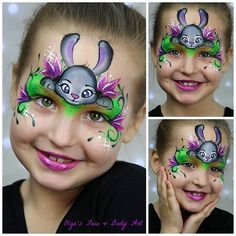 Did you enjoy #Zootopia like I did? Finally I had a chance to go to the theater and view this movie. I felt so inspirational, that I came back home with a certain idea of my own design with Judy, the brave police #bunny. Decided to add the Night Howlers flowers to make the design more colorful.  Also, I have a new studio light and setup! Yaaaayyyy!!!   Tutorial here:  www.youtube.com/olgasfacebodyart