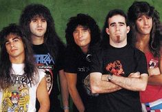 anthrax the band | Anthrax band late 80s