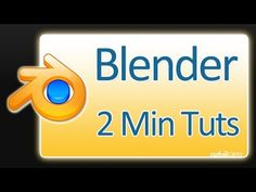 2 Minute Tutorials: Blender Basics (1 of 6) - The Interface, Views and Object Mode - YouTube