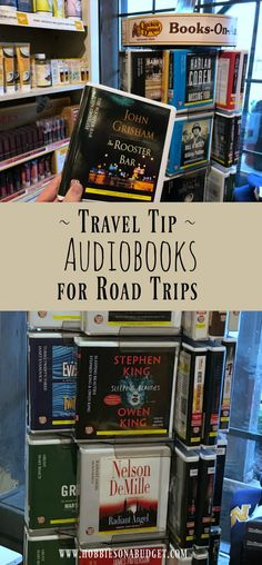 Did you know that you can buy audiobooks at Cracker Barrel and then return them at your next stop and only pay a small rental fee? This is a great travel tip that will help you pass the miles as you drive and save you money!  #crackerbarrel (sponsored) #audiobooks