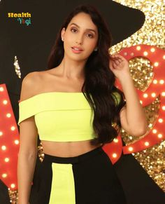 Nora Fatehi Workout Routine And Diet Plan Nora Lovely, Beautiful, Neon Girl, Punjabi Models, Latest Images, Hd Images, Indian Models, Yellow Dress, Hd Photos