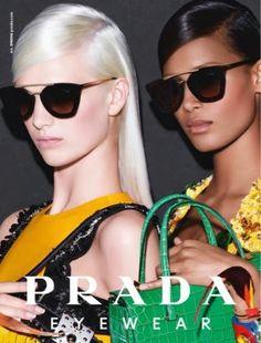 c8a19cc03869 EYEWEAR DIARY - Fashion Blog Brasil  Nova campanha da Prada - Verão 2014 Prada  Sunglasses