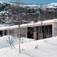 Un chalet mêlant modernité et tradition, en Norvège