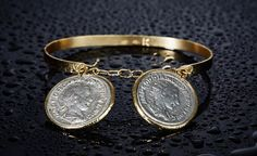 KIAIA, la storia in un gioiello Coins, Bracelets, Gold, Jewelry, Jewlery, Rooms, Jewerly, Schmuck, Jewels