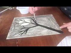 Teken een boom, draw a tree