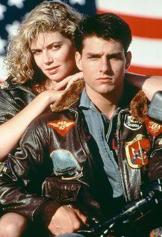 Top Gun by Tony Scott, 1986 (Tom Cruise, Kelly McGillis, Val Kilmer) 80s Movies, Iconic Movies, Great Movies, Movie Stars, Movie Tv, Watch Movies, Movies Free, Popular Movies, Kelly Mcgillis