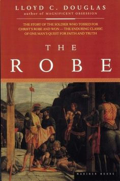 One of my very favorite books!! A story about the Roman guard who won the robe of Jesus casting lots under the cross.