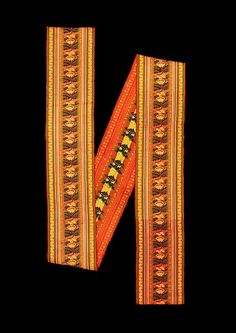 Ribbon, early 19th century, Czech, held by the Met, 2009.300.1660.
