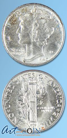 Varied Date Mercury Dime  Brilliant Uncirculated  Art and Coin TV
