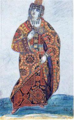 Yaroslavna - Nicholas Roerich