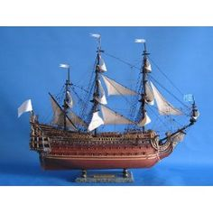 """Soleil Royal Limited 32"""" - Soleil Royal - Model Ship Wood Replica - Not a Model Kit (Toy)  http://www.howtogetfaster.co.uk/jenks.php?p=B002YLITJM  B002YLITJM"""