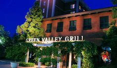 Green Valley Grill at the O Henry Hotel in Greensboro NC  / Piedmont Venues