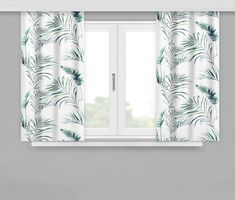 Okenní závěsy bílé barvy Curtains, Shower, Prints, Home Decor, Rain Shower Heads, Blinds, Decoration Home, Room Decor, Showers