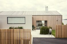 An Outdated Norwegian Prefab Gets a Modern Makeover - Photo 2 of 14 - The updated home in Norway's Snarøya peninsula.