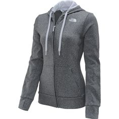 $65 The North Face® women's Fave full-zip hoodie is ready to live up to its name! Bundle up after a race, or wear it to the gym; either way, you'll fall in love with its cozy fleece, three-piece hood, and roomy hand pockets. The hood lining and drawstring are featured in a contrast color for an extra dose of style. <br><br>Get your new The North Face® hoodie today from Sports Authority.