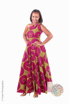 Yanai Collection 2016 - Pagnifik | Robes en pagne longues | African ...