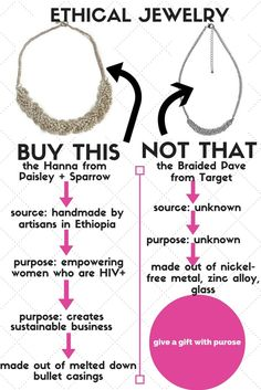 Is my jewelry ethically made? How to know! www.paisleyandsparrow.com
