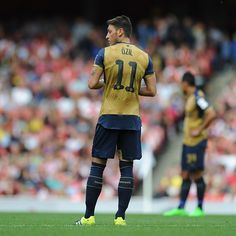 @m10_official on the scoresheet again and looking forward to the season ahead. #EmiratesCup2015 #Arsenal #Gunners #ozil