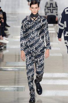 Louis Vuitton Fall 2016 Menswear Fashion Show Men Fashion Show, Mens Fashion, Fashion Fall, High Fashion, Runway Fashion, Luxury Fashion, Men's Collection, Winter Collection, Louis Vuitton