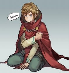 Link...give me the cape...and i dont magic floting kuni you.