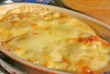 Crabmeat au gratin from Coffee's Boilin' Pot in Madisonville, Louisiana