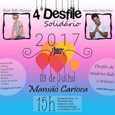 4º  Desfile Solidário Creche Anjinho Feliz (09/07/2017)
