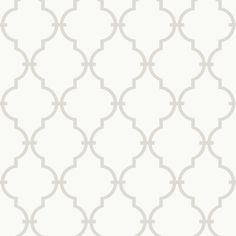 Rosenberry Rooms has everything imaginable for your child's room! Share the news and get $20 Off  your purchase! (*Minimum purchase required.) Gray and White Modern Trellis Wallpaper