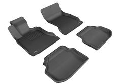 F32 Gray Models Kagu Rubber 3D MAXpider Complete Set Custom Fit All-Weather Floor Mat for Select BMW 4 Series Coupe
