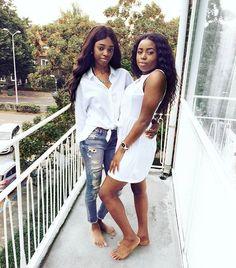 Cause we slay😍❤👑 #melanin #melaningoals #slayqueens #Fashtic