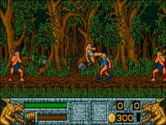 Not to be confused with Barbarian II: The Dungeon of Drax, which is a different game developed by Palace Software.  Barbarian II is a 1991 fantasy action-adventure game by British publisher Psygnosis for the Atari ST and Amiga. A sequel to 1987's Barbarian, the player takes on the role of Hegor on a quest to destroy his resilient and nefarious brother, the sorcerer Necron.  The game takes place from a side-on view, and Hegor moves between areas across the six regions, including forests… History Of Video Games, Necron, Adventure Game, Different Games, Barbarian, Gaming Computer, Caves, Forests, Confused