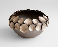 Containers | Electrum Iron & Bronze Vessel | Small