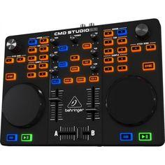 CONTROLADORA DE DJ BEHRINGER CMD STUDIO 2A