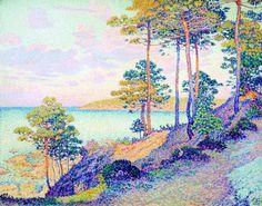 paul signac artiste peintre | Ses oeuvres sont pour la plupart des paysages…