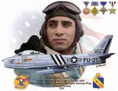 "F-86A James ""Jabby"" Jabara"