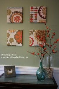 Decorating for spring with Threshold Products from Target #threshold