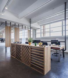 Roy David Studio designs shared studio space for Tel Aviv developers - custom-made furniture