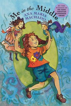 Me in the Middle, written by Ana Maria Machado and illustrated by Caroline Merola. One day Isabel finds a box in her mother's closet and, inside, a photograph of a girl dressed in old-fashioned clothes. Ten-year-old Bel is enchanted to discover that the girl is her great-grandmother Beatrice, her Bisa Bea, and that she and her great-grandmother look very much alike.