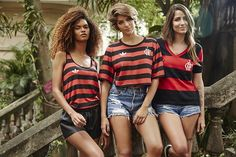 FARM + Adidas lançam a primeira camisa feminina oficial do Flamengo