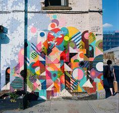 Maya Hayuk. Street ART.