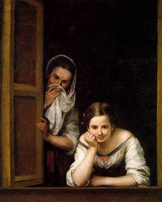 Dos mujeres en la ventana - Murillo