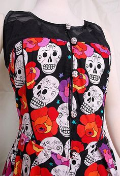 Dia De Los Muertos Dress – Stranger.Things.Emporium