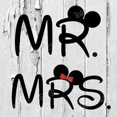 Mr. Mickey Mouse and Mrs. Minnie Mouse clip art by DigitalWishes
