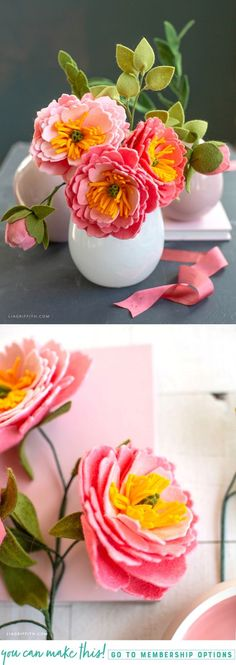 How to make felt flowers - incredibly creativehow to make felt flowers Trendy Flowers Boquette Diy Trendy Flowers Boquette Diy Felt diy flowersFelt Coral Charm Peony Flowers & Buds - Lia Griffithfeltflower diyflower Colour Paper Flowers, Felt Flowers, Diy Flowers, Fabric Flowers, Felt Crafts Diy, Felt Diy, Fall Crafts, Resin Crafts, Summer Crafts